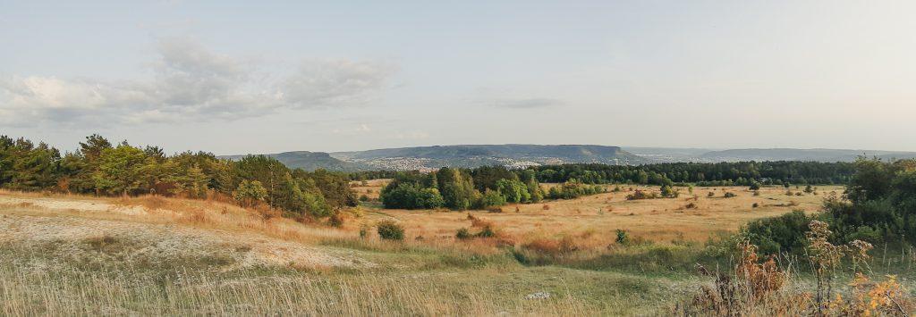 Panorama Blick auf Jena vom Napoleonstein